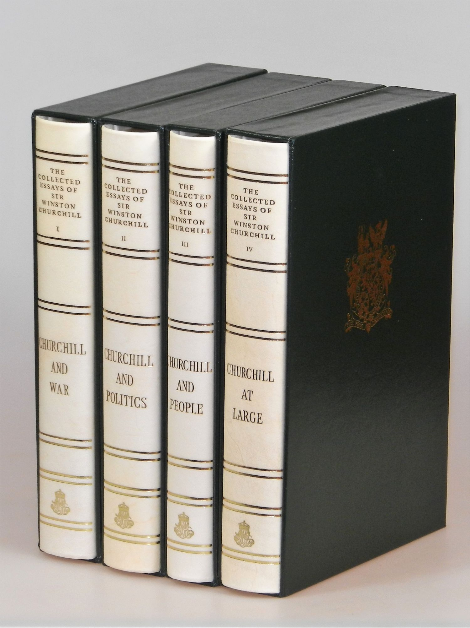 the collected essays of sir winston churchill complete in four  the