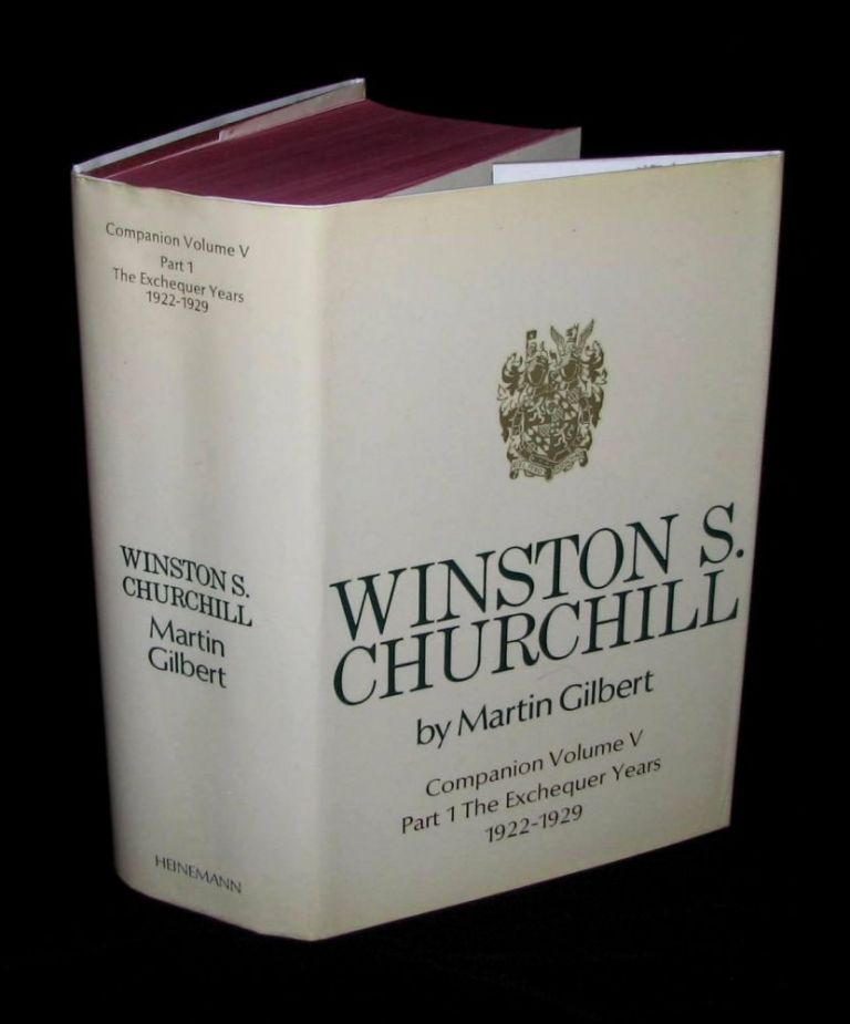 Winston S. Churchill, The Official Biography, Companion Volume V, Part 1, The Exchequer Years 1922 - 1929. Martin Gilbert.