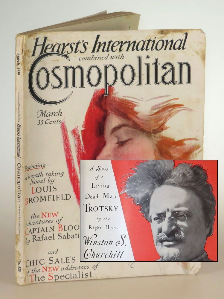 The Ogre of Europe: A Study of a Living Dead Man Trotsky, in Cosmopolitan Magazine March 1930. Winston S. Churchill.