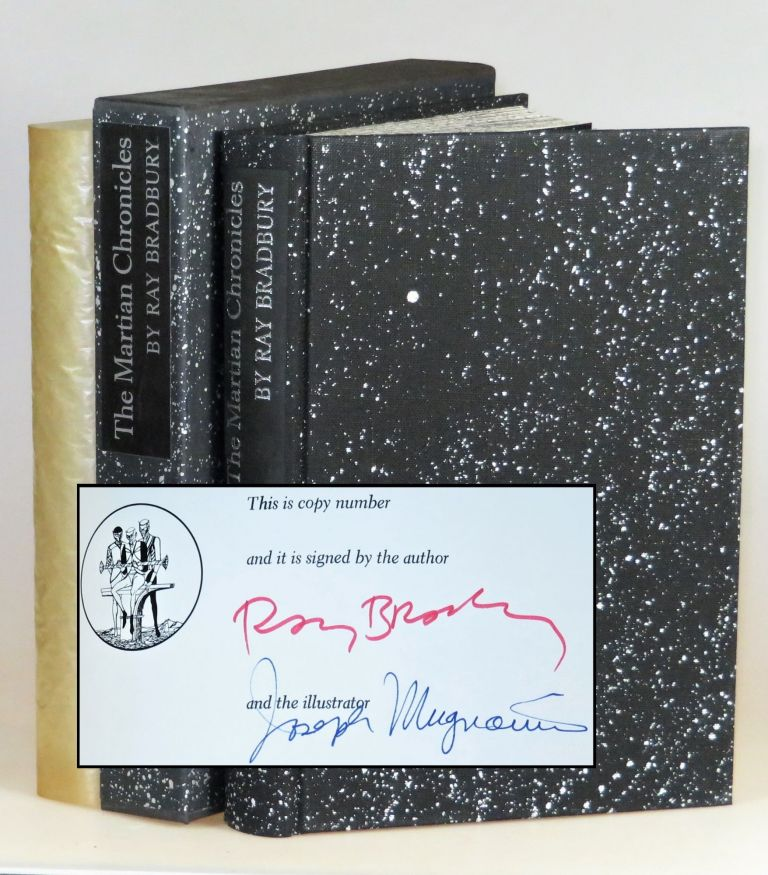 The Martian Chronicles, the Limited Editions Club edition, signed by both the author and illustrator, one of 2000 copies, a pristine unnumbered example from the publisher's archives. Ray Bradbury, Joseph Mugnaini.