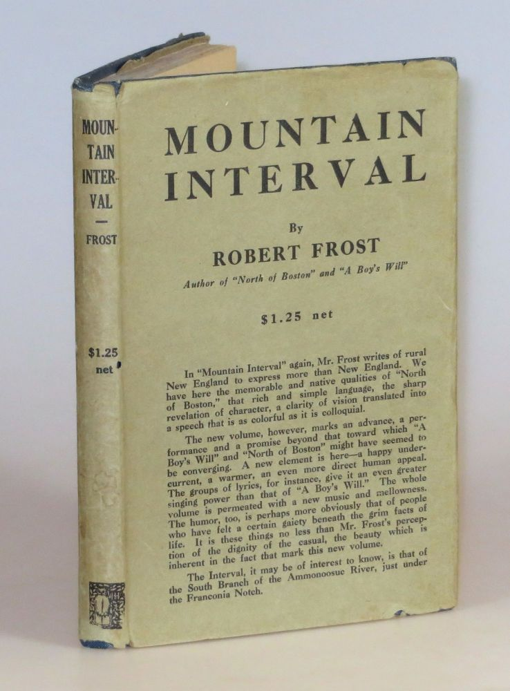 Mountain Interval. Robert Frost.