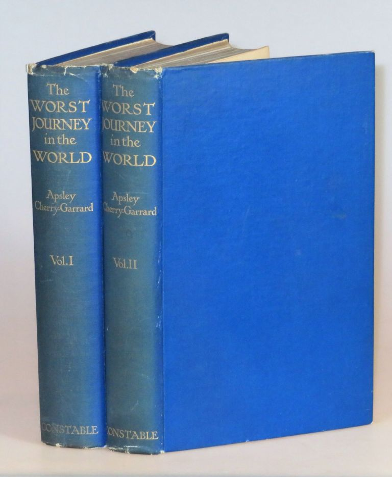 The Worst Journey in the World. Apsley Cherry-Garrard.