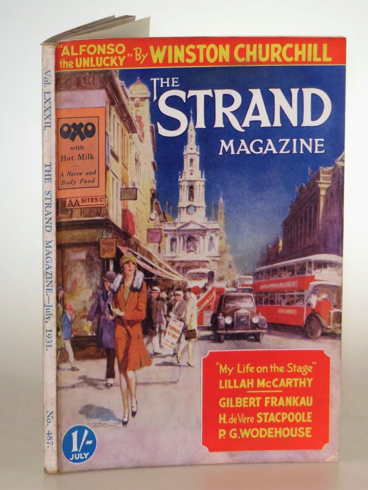 Alfonso the Unlucky in The Strand Magazine, July 1931. P. G. Wodehouse Winston S. Churchill.