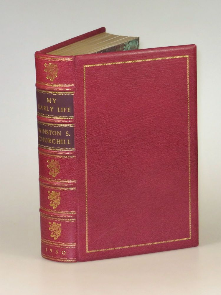 My Early Life, finely bound. Winston S. Churchill.