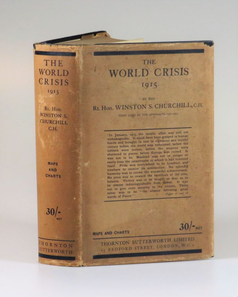 The World Crisis: 1915. Winston S. Churchill.