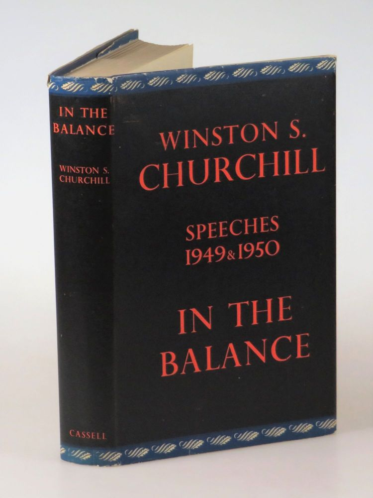In the Balance. Winston S. Churchill.