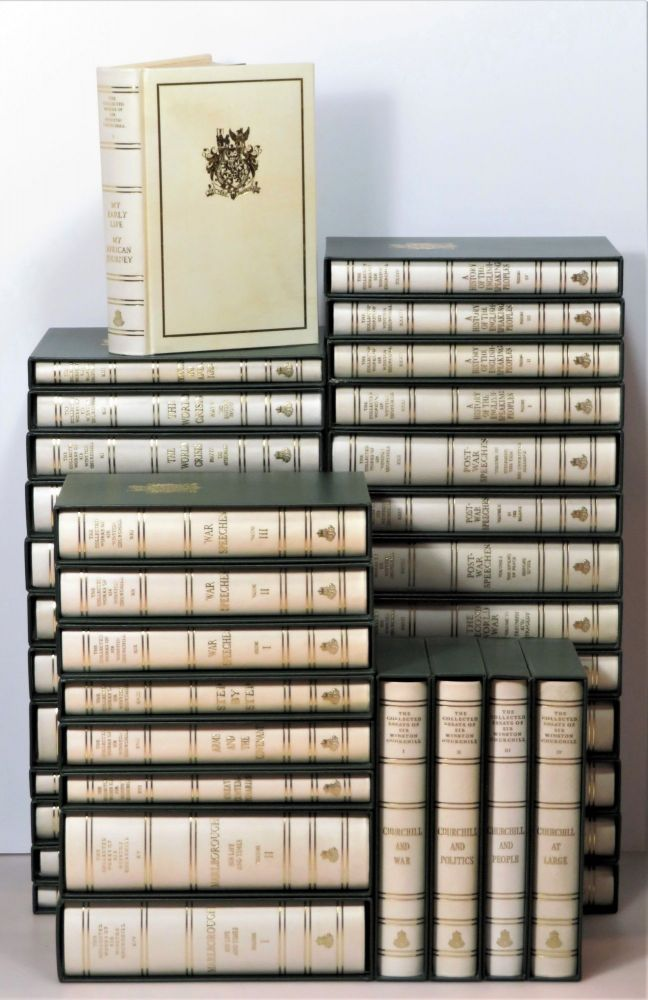 The Collected Works of Sir Winston S. Churchill, complete in 38 volumes, including The Collected Essays. Winston S. Churchill.