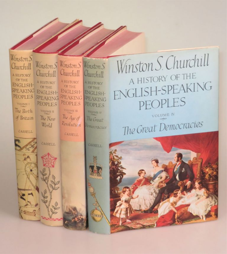 A History of the English-Speaking Peoples. Winston S. Churchill.