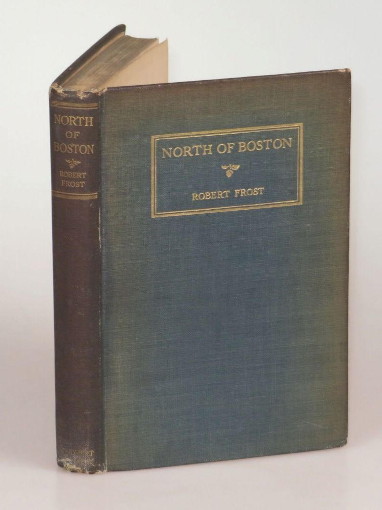 North of Boston, noteworthy for interesting provenance associated with American Poet Laureate Edwin Markham. Robert Frost.