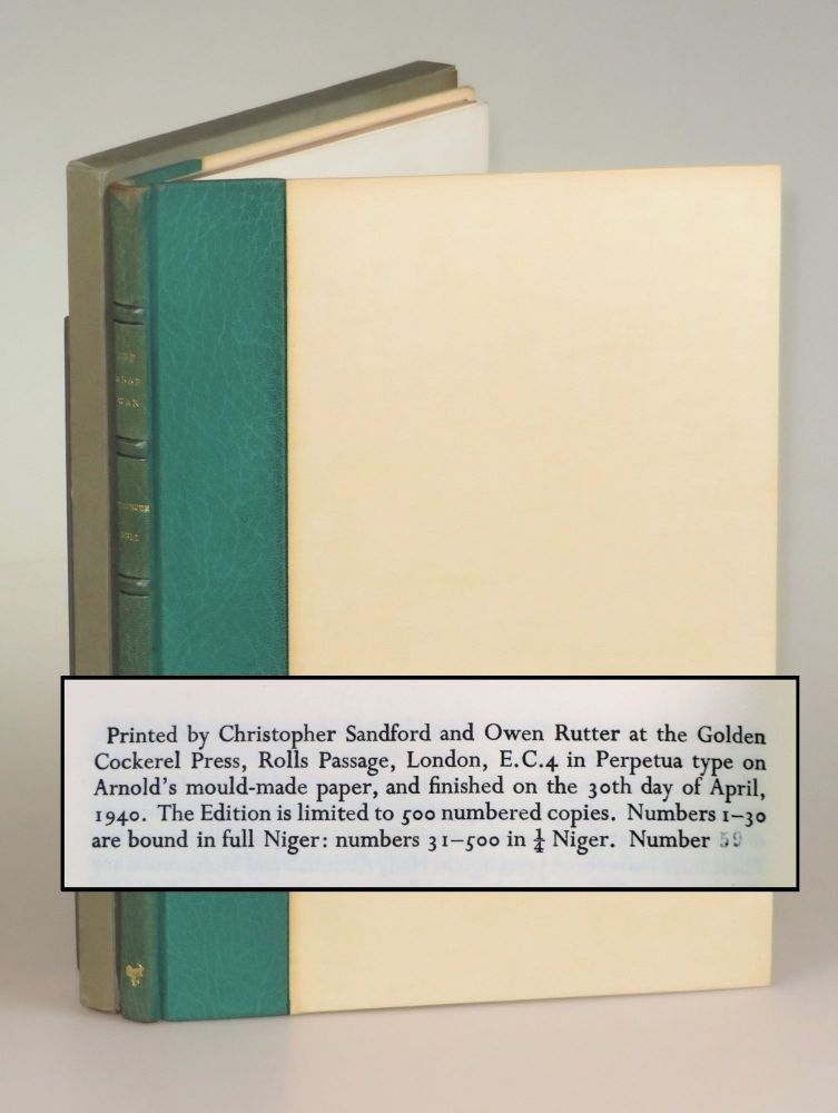 The Arab War, copy Number 59 accompanied by the original glassine dust wrapper and slipcase. Gertrude Bell, Sir Kinahan Cornwallis.