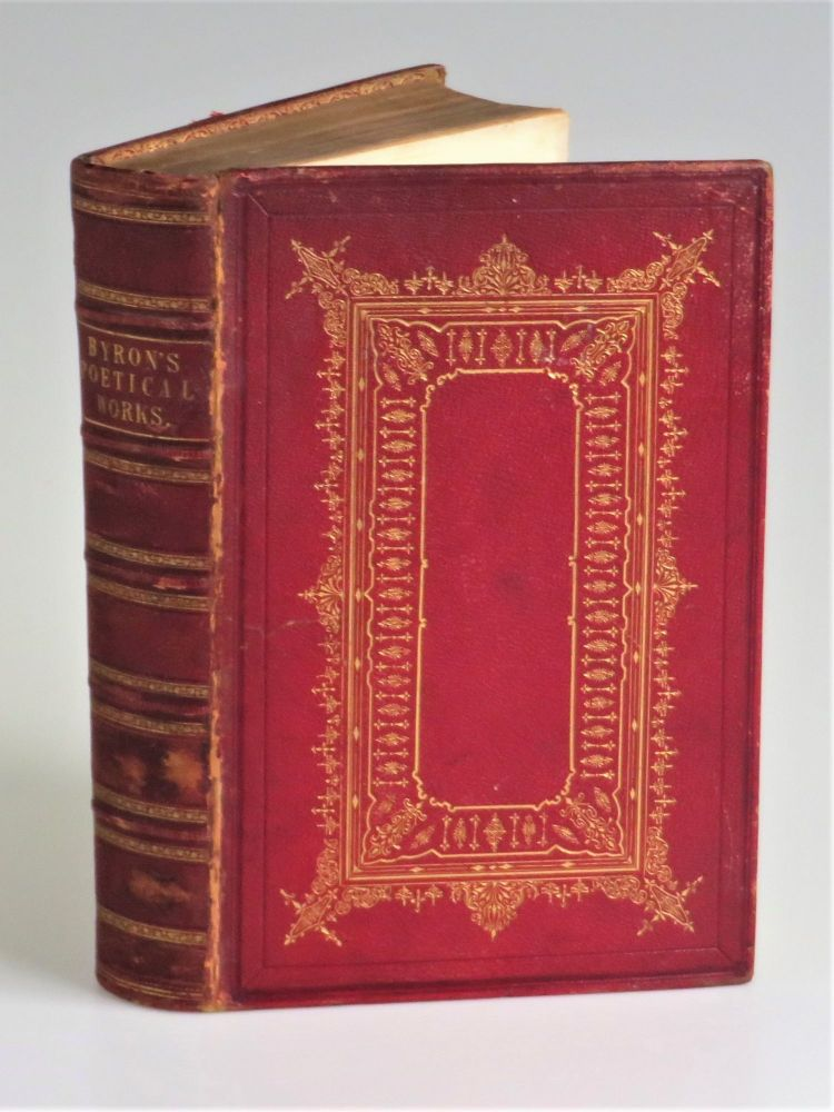 The Poetical Works of Lord Byron, a finely bound, contemporary school prize presentation copy. ron.