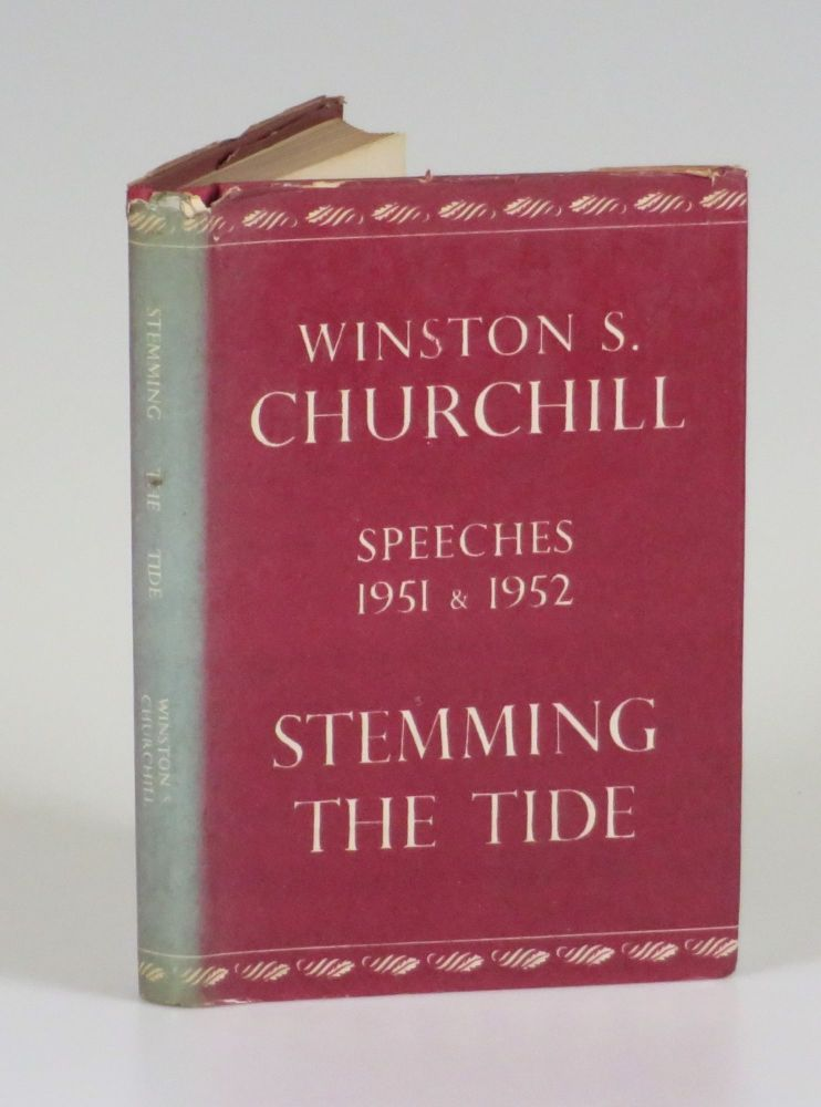 Stemming the Tide, Taiwanese pirated edition. Winston S. Churchill.
