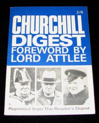 Churchill Digest. Clement Attlee