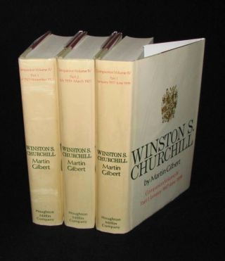 Winston S. Churchill, The Official Biography, Companion Volume IV, Parts 1, 2 & 3, January 1917 -...