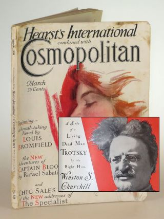 The Ogre of Europe: A Study of a Living Dead Man Trotsky, in Cosmopolitan Magazine March 1930....