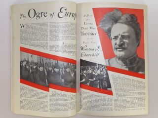 The Ogre of Europe: A Study of a Living Dead Man Trotsky, in Cosmopolitan Magazine March 1930