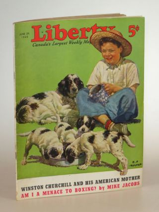 Winston Churchill and His American Mother, in Liberty magazine June 29, 1940