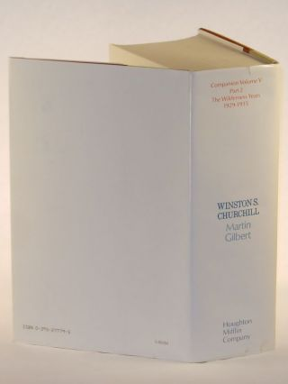 Winston S. Churchill, The Official Biography, Companion Volume V, Part 2, The Wilderness Years 1929-1935
