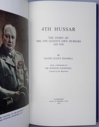 4th Hussar, The Story of the 4th Queen's Own Hussars, 1685-1958