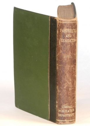 Mr. Churchill on the Peers by Winston S. Churchill, original 1910 leaflet, bound in Pamphlets & Leaflets for 1910, Being the Publications for the Year of the Liberal Publication Department