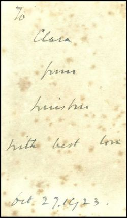 The World Crisis, a remarkable set of British first editions with five dated inscriptions from Churchill to his Aunt and significant annotations by her son, Churchill's Cousin, concerning the Battle of Jutland