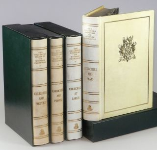 The Collected Essays of Sir Winston Churchill, complete in four volumes. Winston S. Churchill