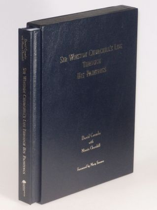 Sir Winston Churchill's Life Through His Paintings, finely bound limited edition in the publisher's original leather slipcase, cloth bag, and presentation box