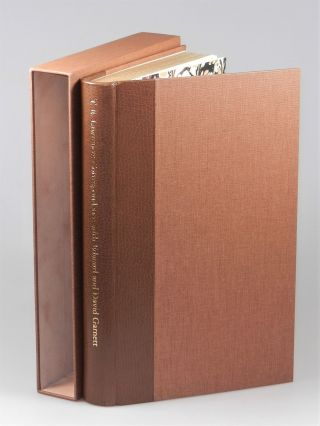 T. E. Lawrence's Correspondence with Edward and David Garnett, the quarter goatskin binding of the limited edition, one of 45 issued thus