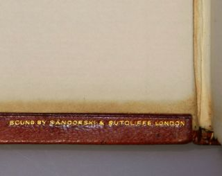 The New Examen, the publisher's Limited Edition, signed by Winston Churchill, bound by Sangorski & Sutcliffe, copy 31 of 50