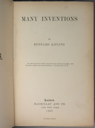 Many Inventions