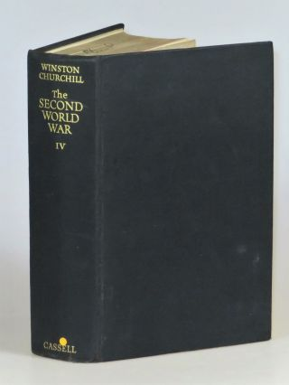 The Second World War: The Hinge of Fate, a bibliographically significant Editor's copy from the Cassell and Company archives, accompanied by galley sheets and typed emendations