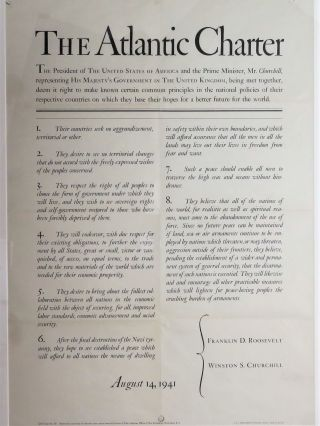 The Atlantic Charter. Winston S. Churchill, Franklin D. Roosevelt
