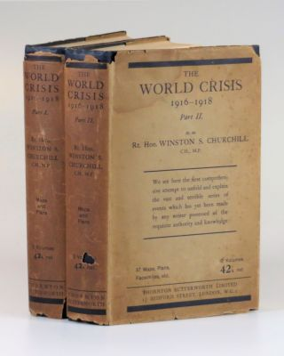 The World Crisis: 1916-1918, Parts I & II. Winston S. Churchill