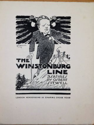 The Winstonburg Line: 3 Satires