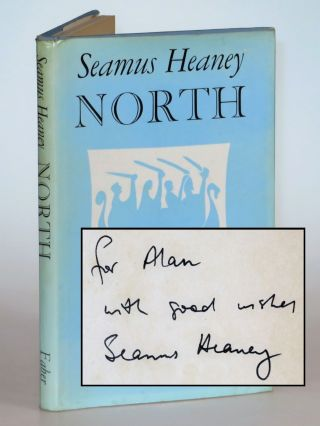 North, inscribed by the author. Seamus Heaney