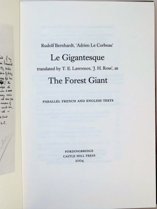 Le Gigantesque | The Forest Giant