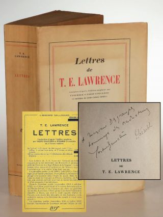 Lettres de T.E. Lawrence (The Letters of T. E. Lawrence), an unopened service de presse copy of...