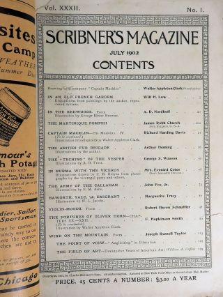 Scribner's Magazine July 1902