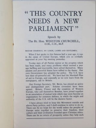 This Country Needs a New Parliament