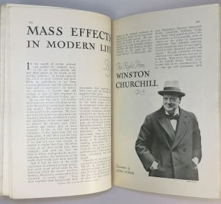 Mass Effects in Modern Life in The Strand Magazine, May 1931