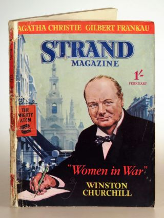 Women in War in The Strand Magazine, February 1938. Agatha Christie Winston S. Churchill