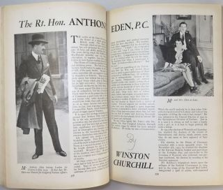 The Rt. Hon. Anthony Eden in The Strand Magazine, August 1939