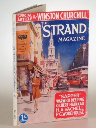 Men Who Have Influenced or Impressed Me in The Strand Magazine, February 1931. P. G. Wodehouse...
