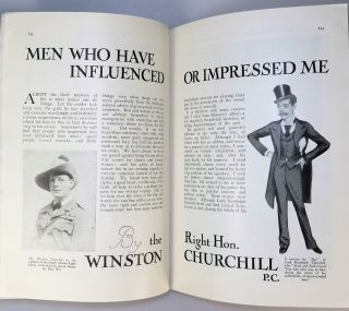 Men Who Have Influenced or Impressed Me in The Strand Magazine, February 1931