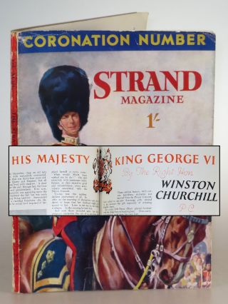 His Majesty King George VI in The Strand Magazine, May 1937. Winston S. Churchill