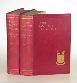 """""""A sister mourns the vanished hopes of what might have been"""" – Lord Randolph Churchill, Winston S. Churchill's biography of his father, poignantly inscribed in the year of publication by Lord Randolph's sister, Lady Cornelia Henrietta Maria Wimborne"""