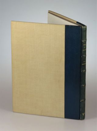 Men In Print, the first, limited edition, #262 of 500, signed by T. E. Lawrence's brother and literary executor, A. W. Lawrence