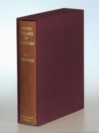 Seven Pillars of Wisdom, the U.S. publisher's quarter leather limited edition, copy #685 of 750
