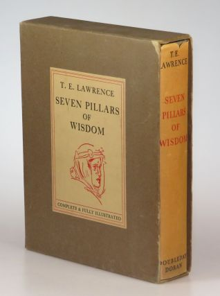 Seven Pillars of Wisdom in the original dust jacket and slipcase. T. E. Lawrence