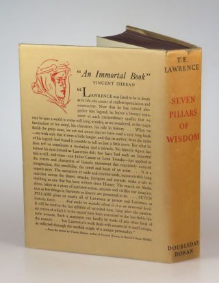 Seven Pillars of Wisdom in the original dust jacket and slipcase